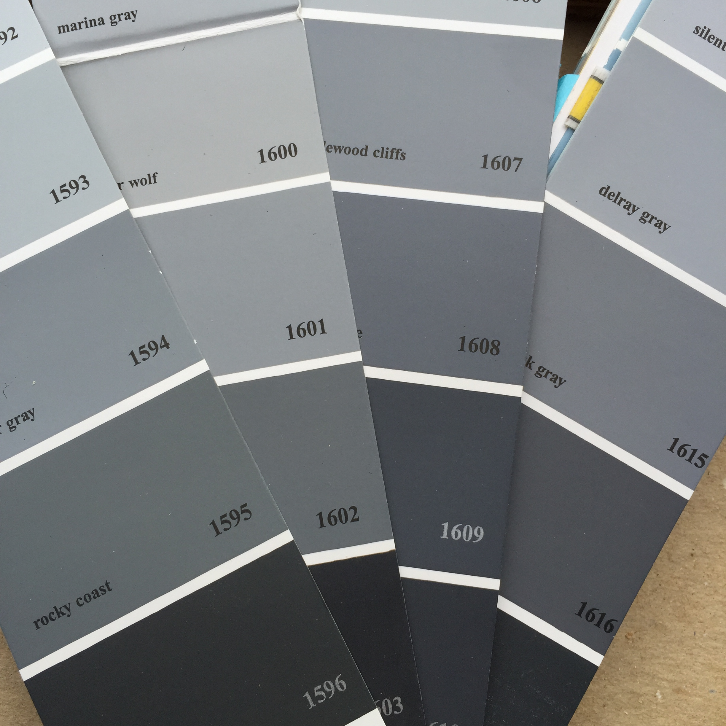 Brilliant 50 Shades Of Grey Paint Inspiration Design Of